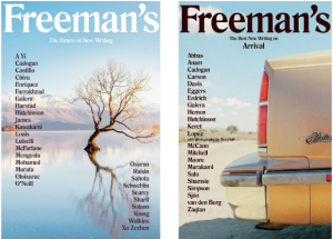 Covers of literary magazine Freeman's (www.salu.io)